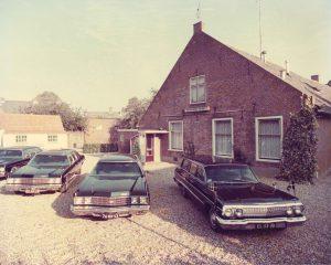 Ouderwets volgwagen begrafenis Rebel Uitvaart Huizen Almere