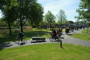 Uitvaart op de fiets Rebel Huizen Almere