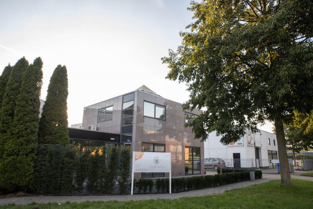 Aanzicht Afscheidshuys Almere